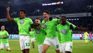 Gomez attı Wolfsburg 3 puanı kaptı