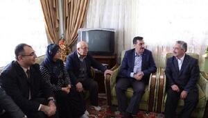 Bakan Tüfenkci, şehit ailesini ziyaret etti