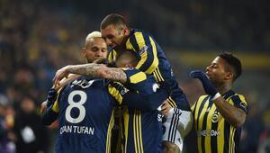 Fenerbahçe 1-0 Başakşehir / MAÇIN ÖZETİ