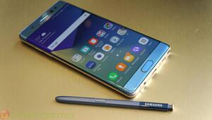 Samsung Galaxy Note 7den dersini aldı