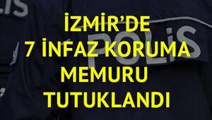 7 infaz koruma memuru FETÖden tutuklandı