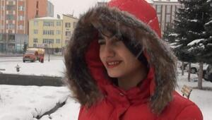 Kars'a kar yağdı, hava ısındı