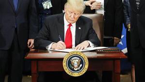 Trumptan dünyanın kaderini değiştiren 2 imza