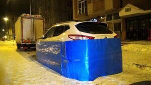 Otomobile soğuktan brandalı koruma