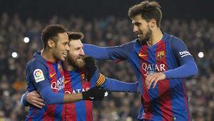 Barcelona: 5 - Real Sociedad: 2