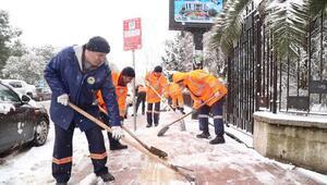 Başkan Tok : İlkadımda kar ulaşıma engel değil