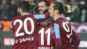 Trabzonspor 2017de yenilgisiz