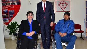 Engellilere sigorta yaptırıp çalıştırmıyorlar iddiası