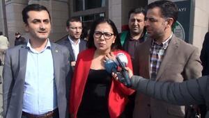 Adliyede gözaltına alınan CHP PM üyesi Avukut Sera Kadıgil emniyete götürüldü