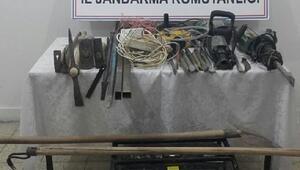Amasya'da kaçak kazıdan 4 kişi gözaltına alındı