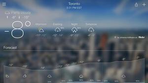 Telefonlarınız için en iyi hava durumu uygulamaları