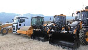 Samandağ Belediyesine yeni araçlar