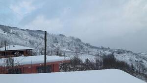 Orduda 400den fazla mahalle yolu kardan kapandı