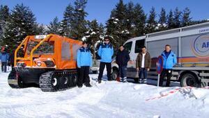 Kayak merkezi Ilgaz Yıldıztepe AFADa emanet