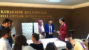 Kırşehir'de 2016da bin 87 çift dünya evine girdi