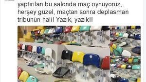Best Balıkesirden Galatasaray Odeabank taraftarlarına sitem