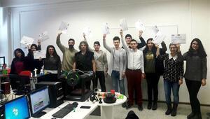 Öğrenciler 3D yazıcı eğitimi için Avrupaya gitti