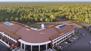 Eynalda dört yıldızlı otel projesi hazır