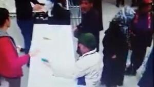 Emanet bırakılan cep telefonunu aldı, kamera görüntülerinden yakalandı