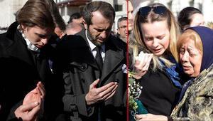 MHPli Saffet Sancaklı'nın eşi son yolculuğuna uğurlandı