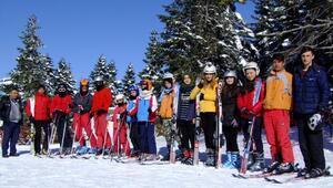 Ilgazlı kayakçılar Erzuruma hazırlanıyor