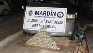 Mardinde uyuşturucu operasyonu: 39 kilo eroin ele geçirildi