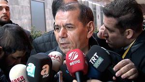 Galatasaray Başkanı Özbekten hakeme eleştiri