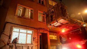 Beşiktaş'ta dairede yanmış erkek cesedi bulundu