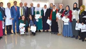 DAP İdaresi Başkanı Demir, kadın çiftçileri ziyaret etti