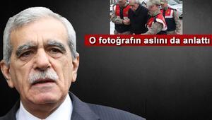 Ahmet Türk o fotoğrafı anlattı: Kayıp düşmemem için koluma giriyorlardı