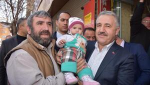Ulaştırma Bakanı Arslan Aksarayda
