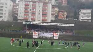 Beşiktaş bayan futbolcularının maçından sonra olay çıktı