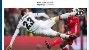 Cenk Tosunun volesi en güzel gol seçildi