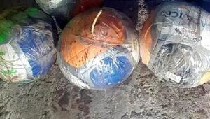 Mardinde 6sı voleybol topuna tuzaklanmış 10 bomba düzeneği ele geçti