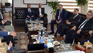 Yavilioğlu, Başkan Göğebakan ile referandumu konuştu