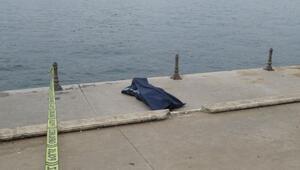 Üsküdarda denizden ceset çıktı