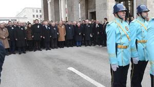Trafik kazasında hayatını kaybeden Enver Öktem için TBMMde cenaze töreni düzenlendi