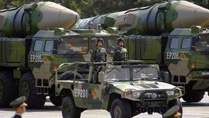 Çinden balistik füze hamlesi