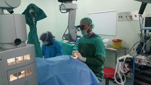 Niğdede göz ameliyatlarında başarı