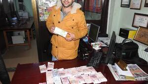 Poşet dolusu para buldu, sahibini ararken sahte olduğunu öğrendi