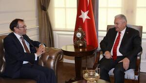 Başbakan Yıldırım, BM Kıbrıs Özel Temsilcisi Eıdeyi kabul etti