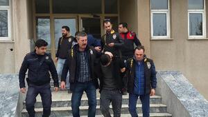 Akaryakıt istasyonuna soygun girişimine 3 tutuklama