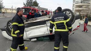 Adıyamanda kaza: 2 yaralı