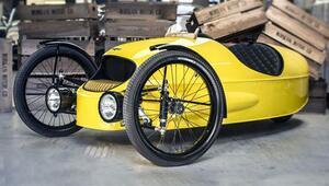 Üç tekerlekli bisiklet değil, araba