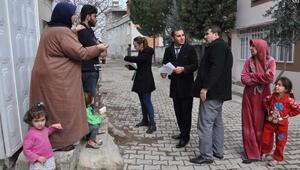 İslahiyede, Suriyelilerin envanteri çıkarılıyor