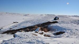 Hacıbektaş'ta kayadan oyma kilisede kaçak kazıya 7 gözaltı