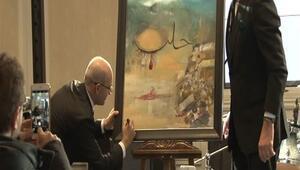 Başbakan Yardımcısı Mehmet Şimşek'in yaptığı resme 151 bin TL