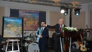 Ek fotoğraflar // Başbakan Yardımcısı Mehmet Şimşekin yaptığı resme 151 bin TL