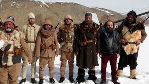 Beyaz Hüzün Sarıkamış, Erzincan'da film oluyor