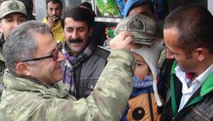 Tuğgeneral Tokelden Yüksekova esnafına ziyaret